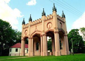 Pozostałości pałacu Paca - portyk