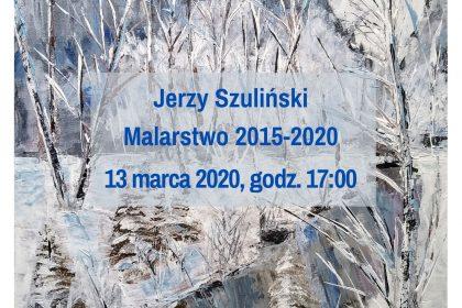 Plakat malarstwo Jerzy szuliński