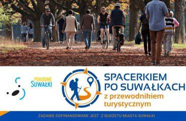 plakat spacerkiem po Suwałkach