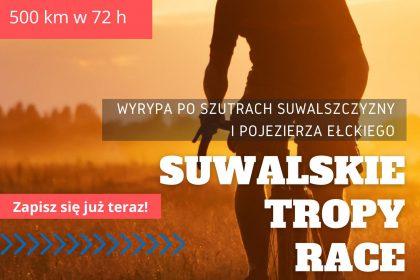 Plakat wydarzenia Suwalskie Tropy Race